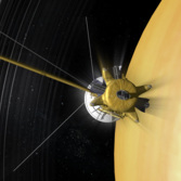 Cassini in orbit