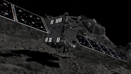 Rosetta impact