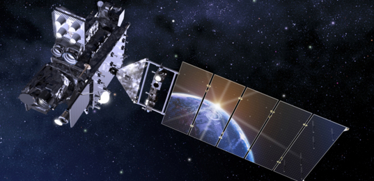 Artist's rendering of GOES-R