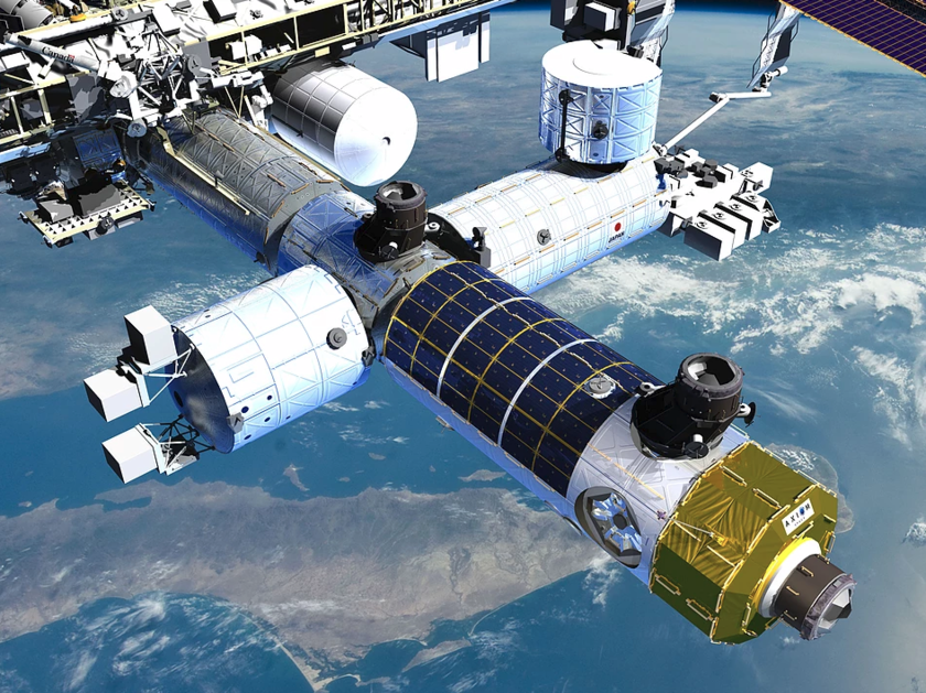 Module 1 at the International Space Station