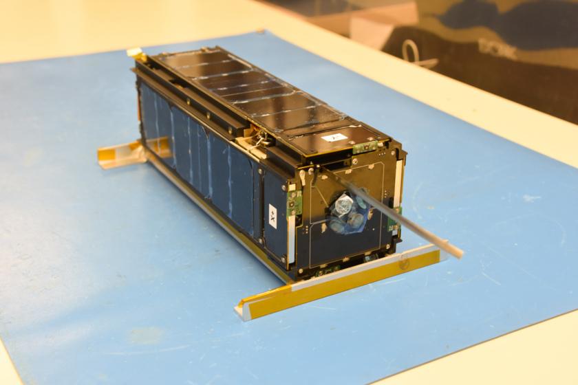 LightSail 2, CubeSat form, aft view