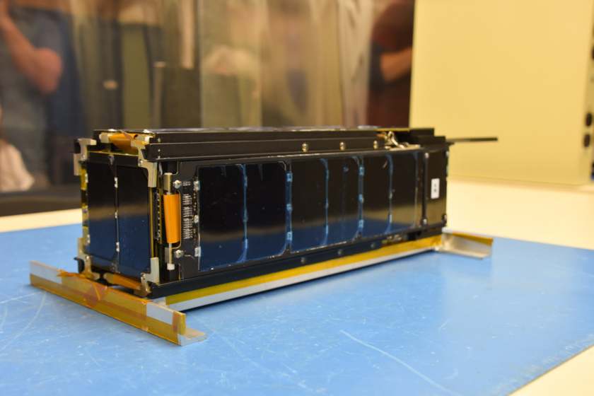 LightSail 2, CubeSat form, forward view