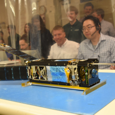 LightSail 2, solar panels deployed