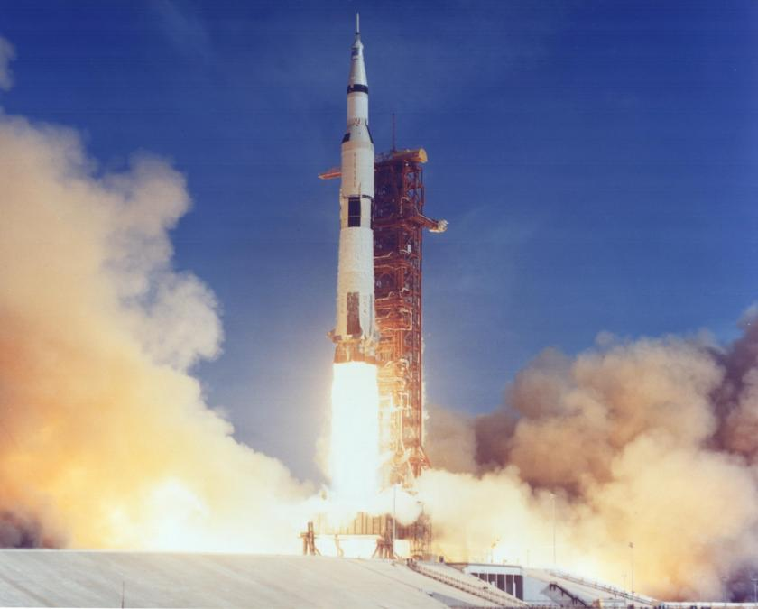 Apollo 11 liftoff from pad 39A