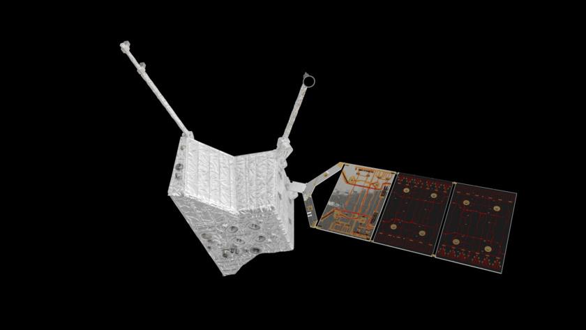 BepiColombo's Mercury Planetary Orbiter (bottom view)