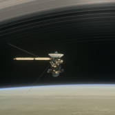 Cassini makes the plunge