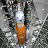 Space Launch System stacking