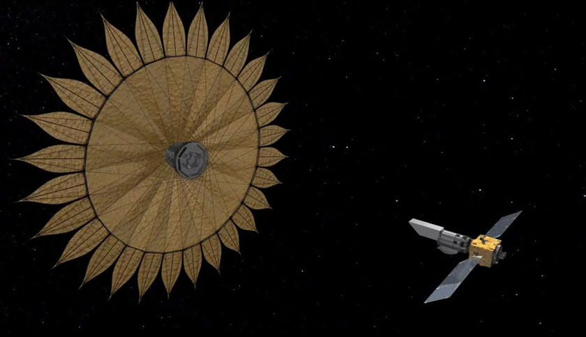 Artist's concept of the Starshade