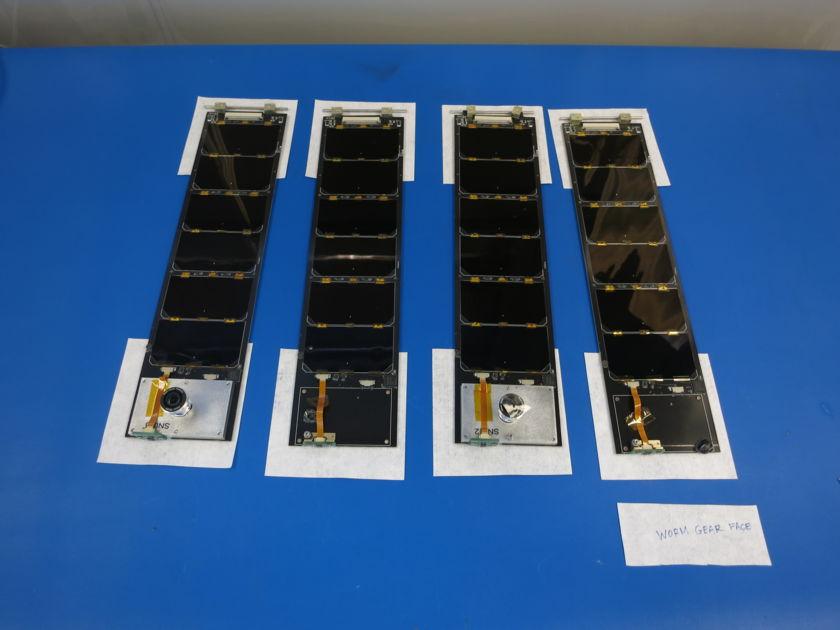 LightSail solar panels