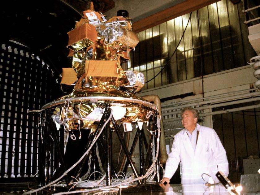 Cosmos 1 flight unit