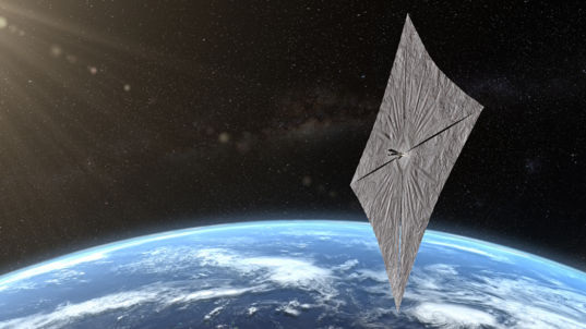 Rendition of LightSail 2 - The Planetary Society