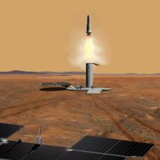 Mars sample return concept