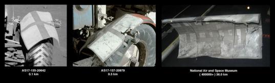 Apollo 17's replacement fender
