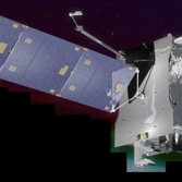 Illustration of SES-14, the satellite that hosts NASA's GOLD instrument