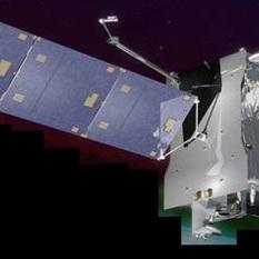Illustration of SES-14, the satellite that hosts NASA's GOLD instrument