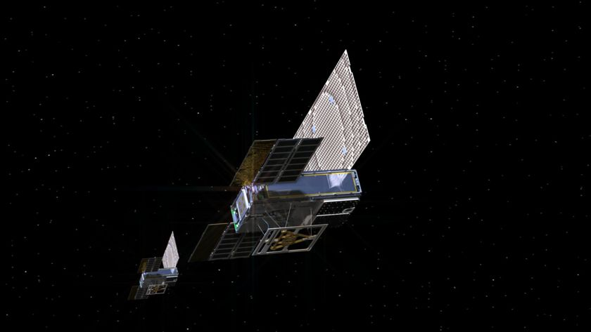 Mars Cube One (MarCO) in deep space