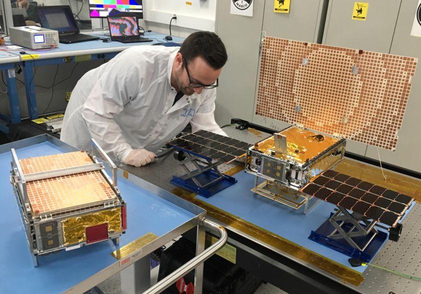 MarCO spacecraft