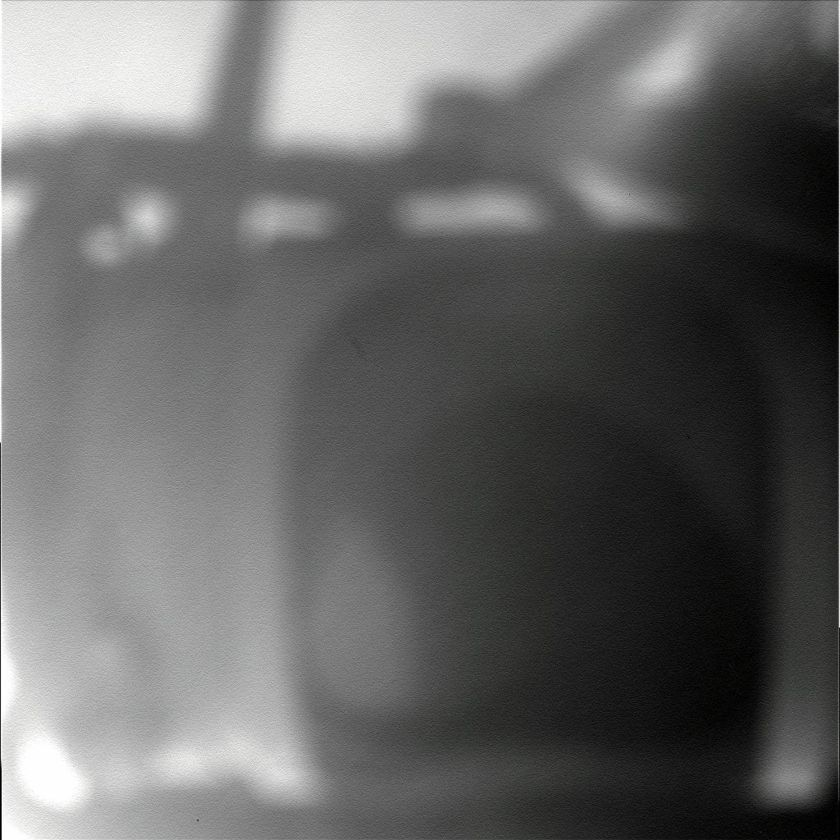 Microscopic imager picture of Mini-TES mirror