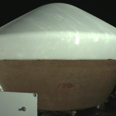 The OSIRIS-REx Sample Return Capsule imaged by Stowcam on March 2, 2017
