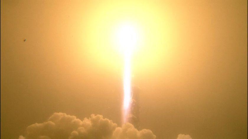 InSight's foggy launch