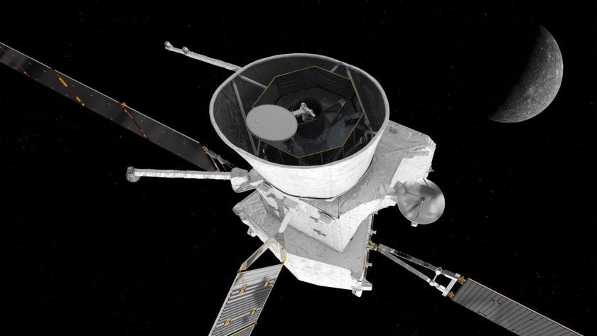 BepiColombo approaching Mercury (3)