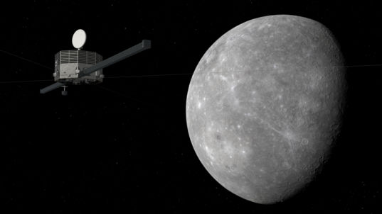 Mercury Magnetospheric Orbiter at Mercury