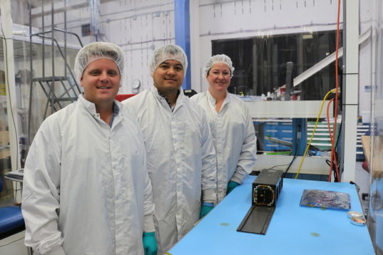 LightSail 2 in storage P-POD