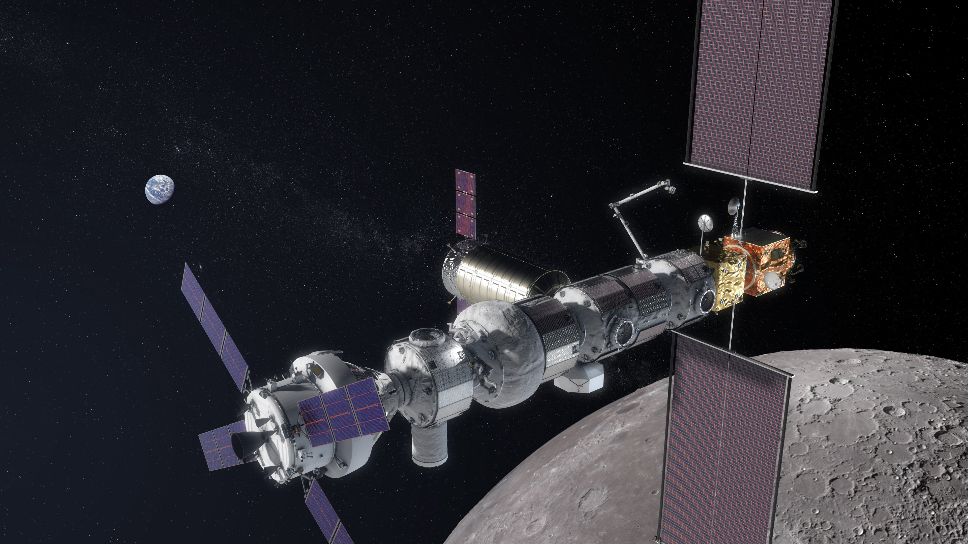 Orion's third flight will haul two pieces of a space ...