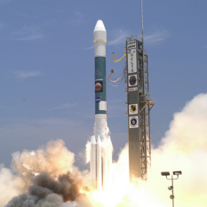 Spirit rover launch