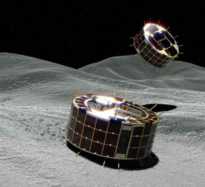 MINERVA-II1 rovers