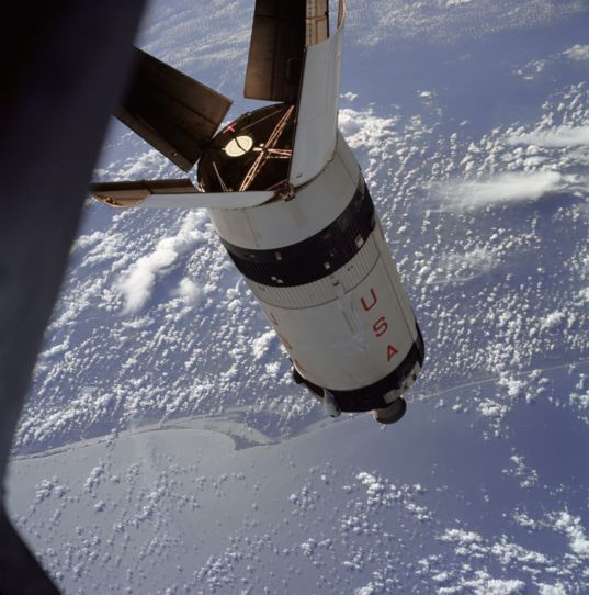 Apollo 7 rendezvous training