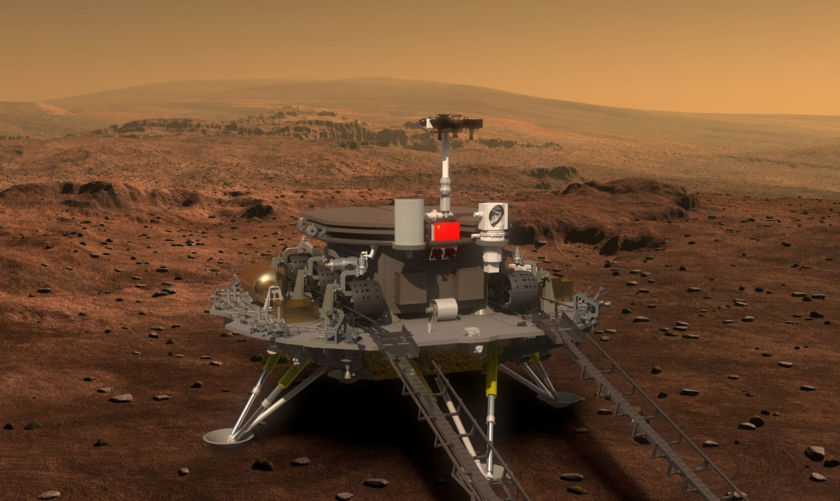 China Mars 2020 rover