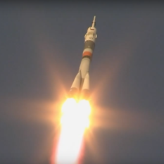 Expedition 58 liftoff