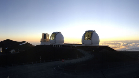 The Keck Telescopes