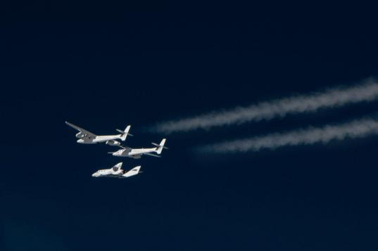SpaceShipTwo released