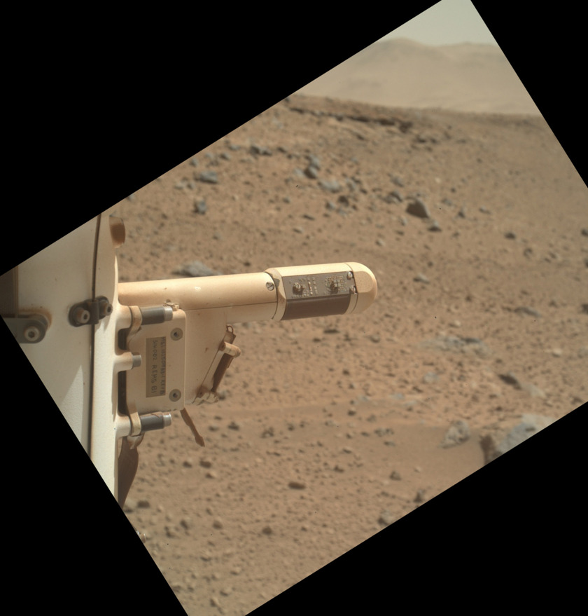 Curiosity REMS sensor boom 1 (from back)