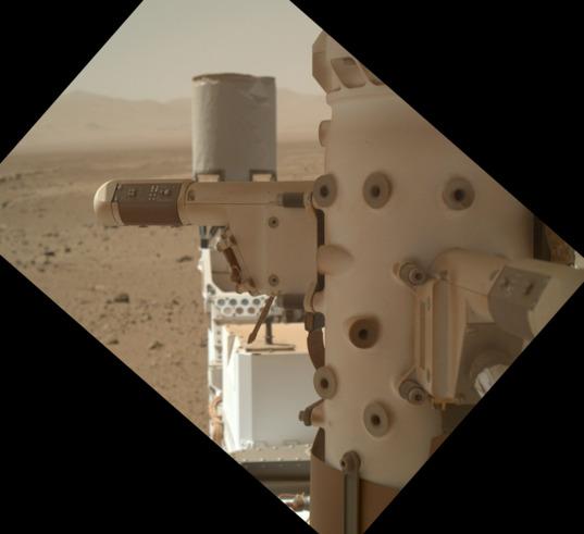 Curiosity REMS sensor boom 1