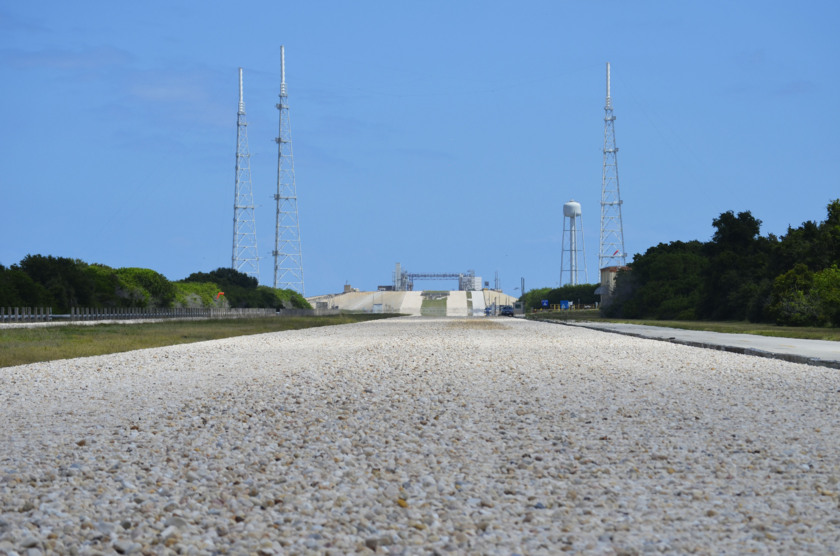 Crawlerway and launch pad 39B
