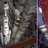 SLS vs. Saturn V processing