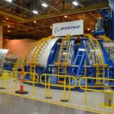 EM-1 aft liquid oxygen tank dome