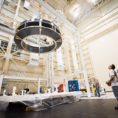 Orion crew module adapter test article