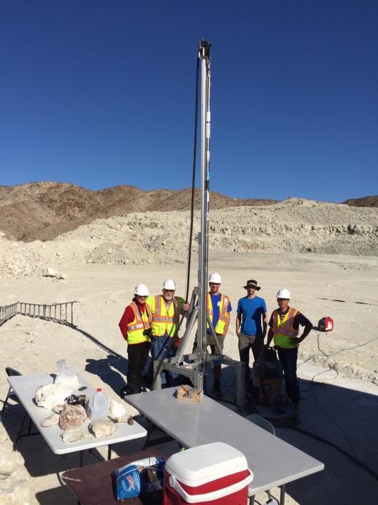 Planetary Deep Drill field testing