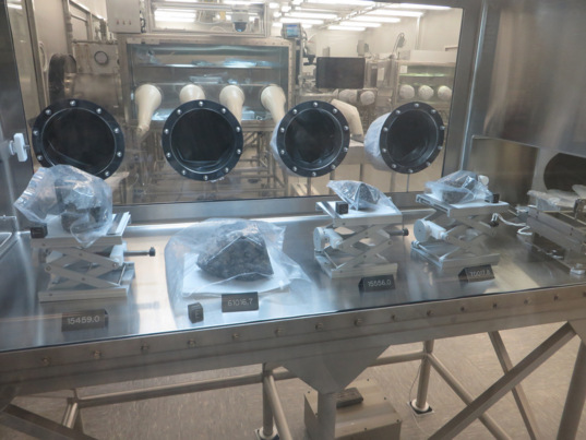 Samples at the NASA JSC Astromaterials Office