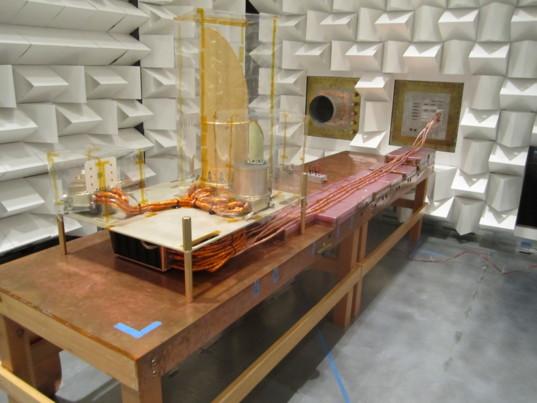 OCAM EMI-EMC testing