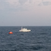Maximus with lifeboat