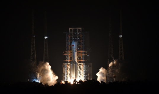 Long March 5's first launch