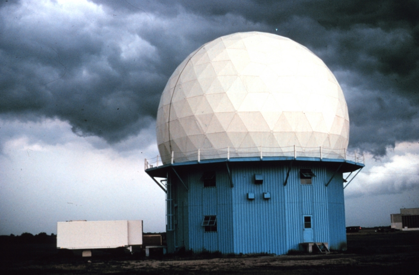 Example of one of NOAA's Doppler radar