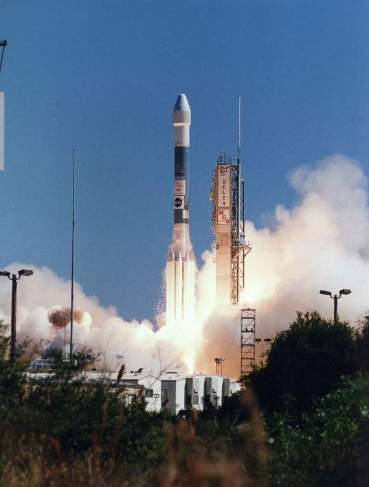 Mars Global Surveyor launches, November 7, 1996