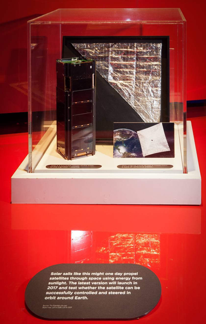 LightSail at the London Science Museum