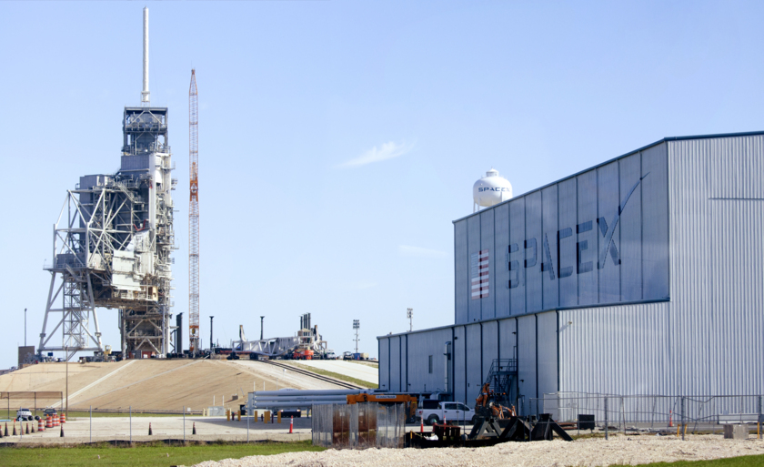 SpaceX pad 39A